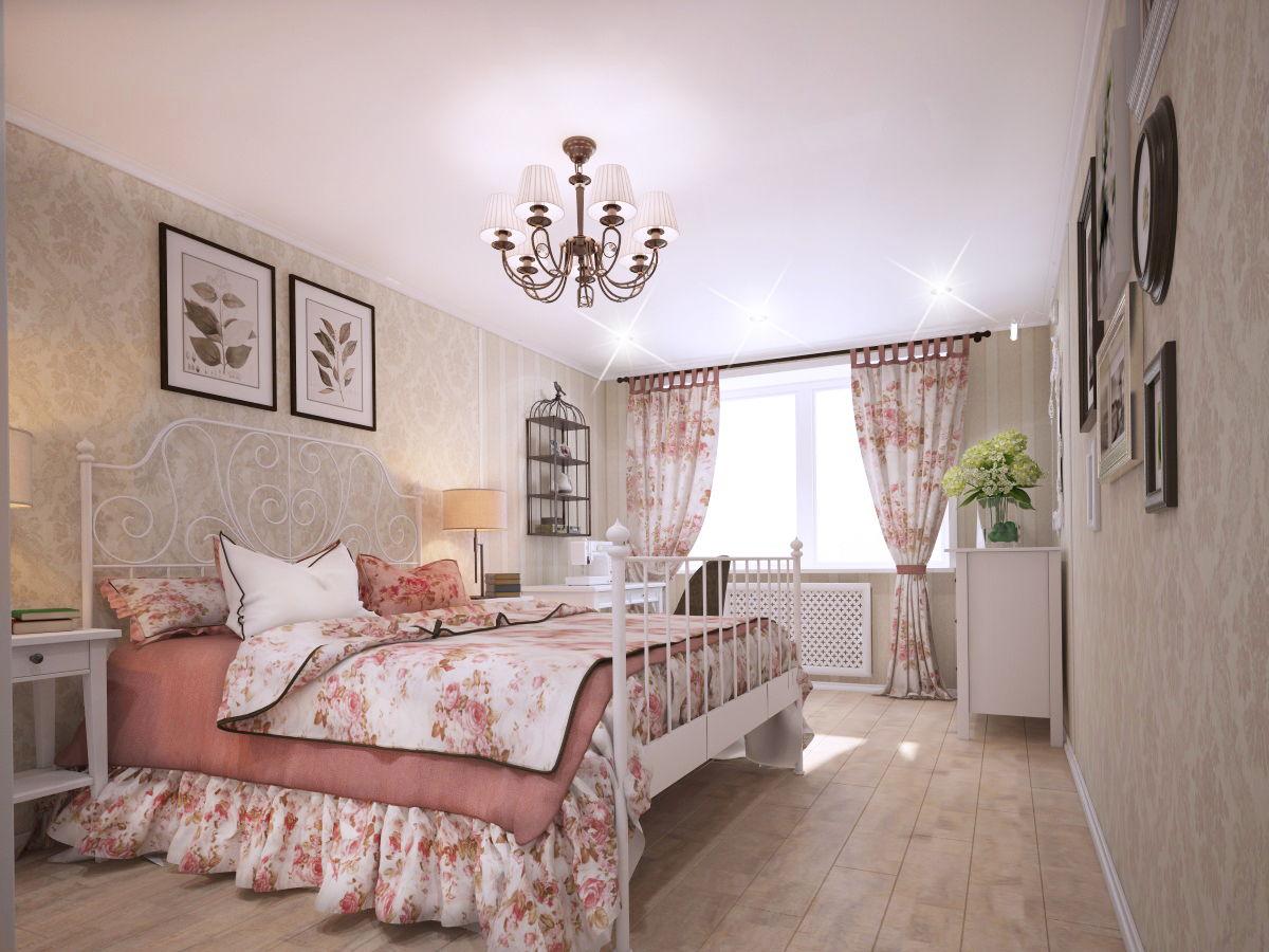 спальня в стиле прованс виды декора