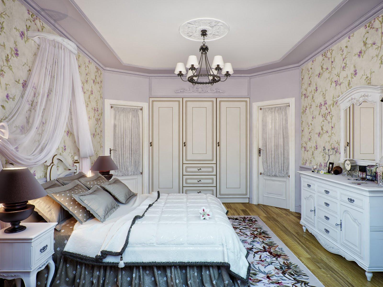 спальня в стиле прованс виды дизайна