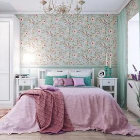 спальня в стиле прованс виды интерьера