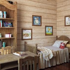 спальня в стиле шале фото обзор