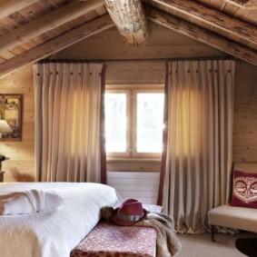 спальня в стиле шале идеи декор