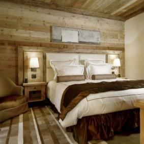 спальня в стиле шале идеи декора