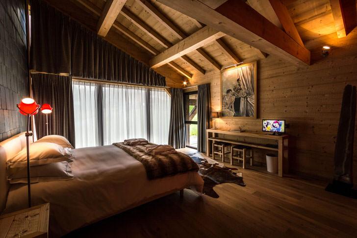 спальня в стиле шале идеи обзоры