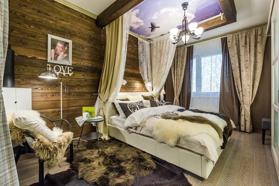 спальня в стиле шале идеи оформление