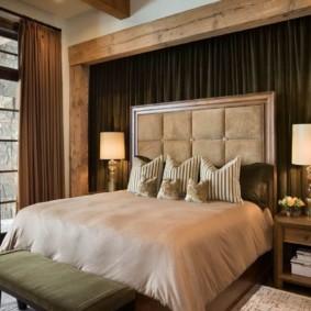 спальня в стиле шале идеи оформления