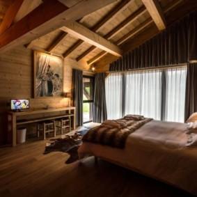 спальня в стиле шале идеи вариантов