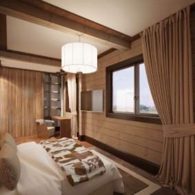 спальня в стиле шале идеи варианты