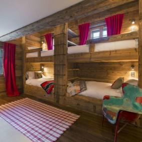 спальня в стиле шале идеи виды