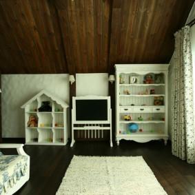 спальня в стиле шале обзор