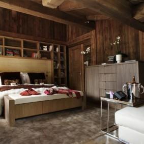 спальня в стиле шале варианты