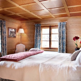 спальня в стиле шале варианты фото