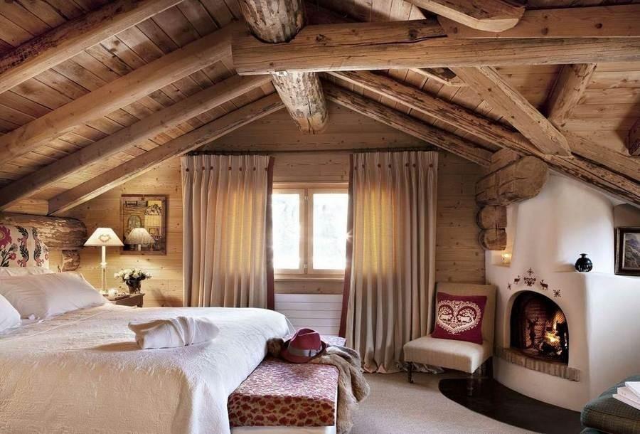 спальня в стиле шале виды фото