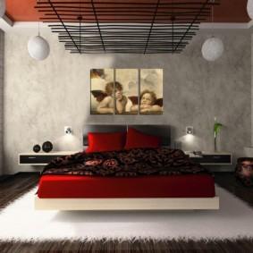 спальня в японском стиле декор идеи