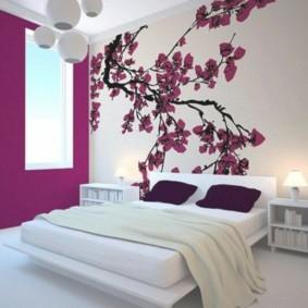 спальня в японском стиле дизайн
