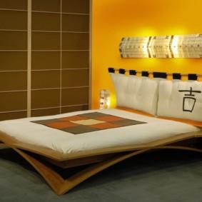 спальня в японском стиле фото дизайн