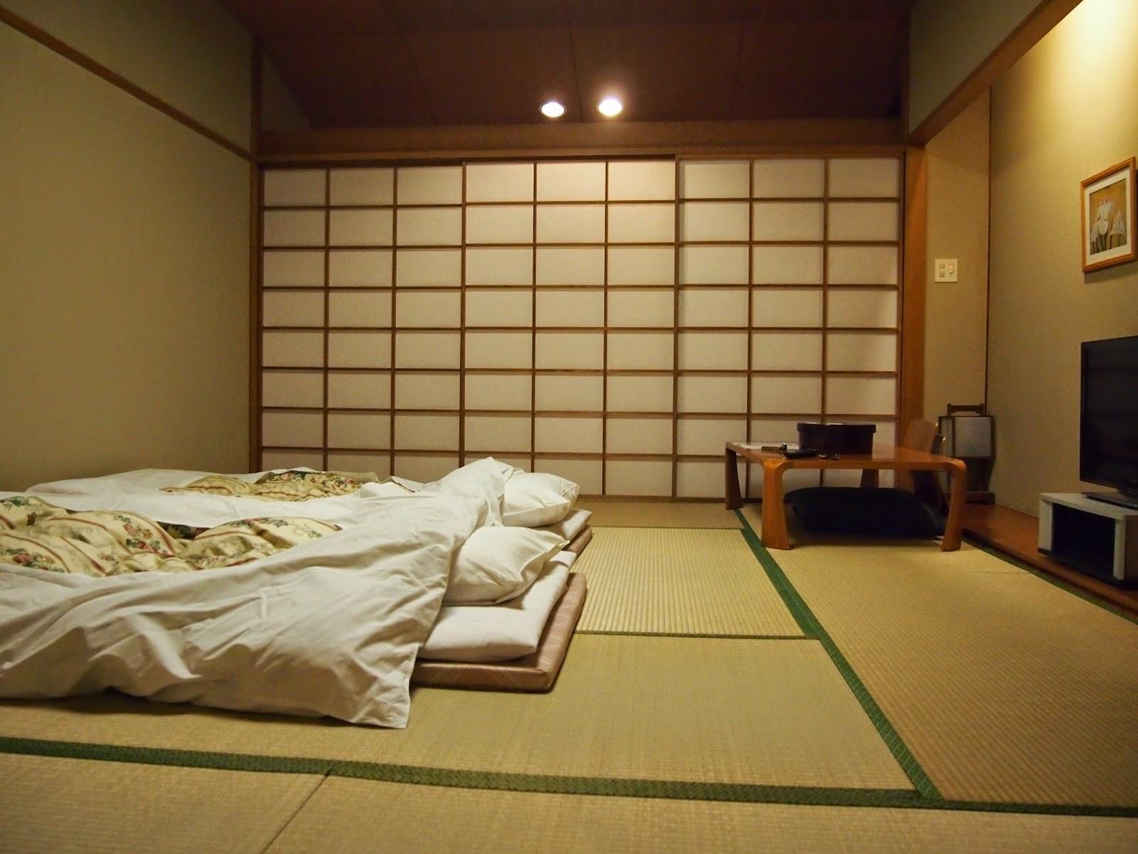 спальня в японском стиле фото интерьера