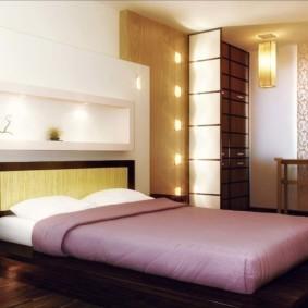 спальня в японском стиле фото обзор
