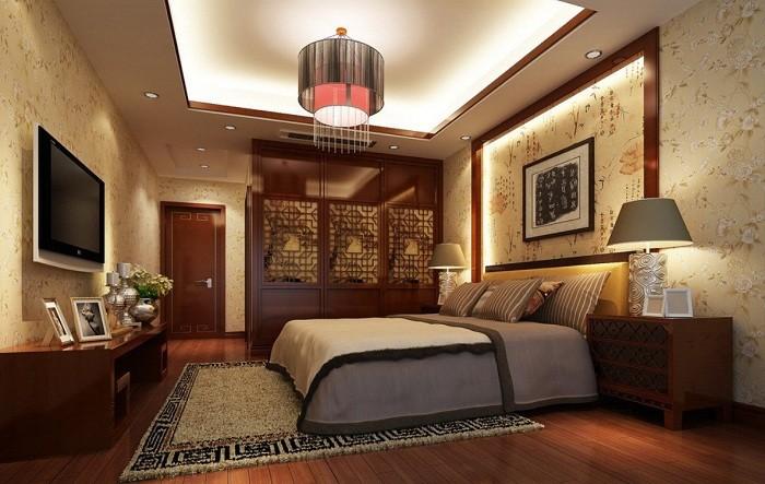 спальня в японском стиле фото виды