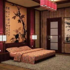 спальня в японском стиле идеи декор