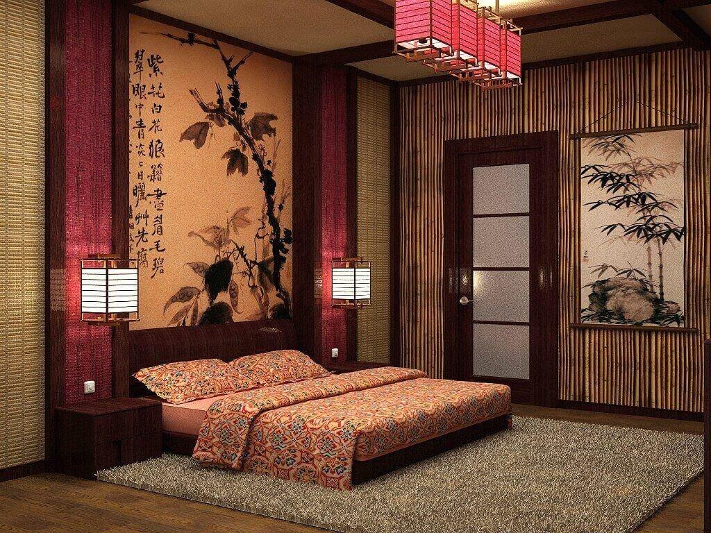 итоге тень оформление комнаты в японском стиле фото зависит того