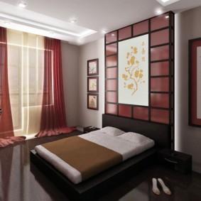 спальня в японском стиле идеи дизайна