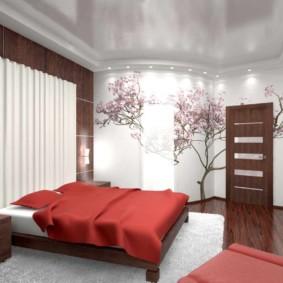 спальня в японском стиле идеи варианты
