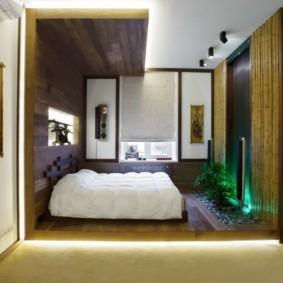 спальня в японском стиле идеи виды