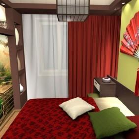 спальня в японском стиле обзор