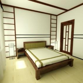 спальня в японском стиле обзор фото