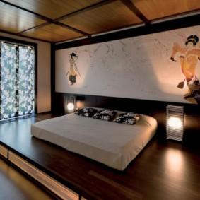 спальня в японском стиле обзор идеи