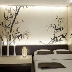 спальня в японском стиле оформление