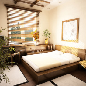 спальня в японском стиле оформление идеи