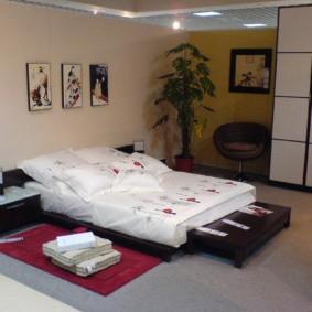 спальня в японском стиле варианты