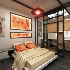 спальня в японском стиле виды