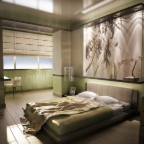 спальня в японском стиле виды идеи