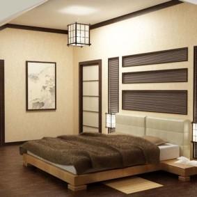 спальня в японском стиле дизайн идеи