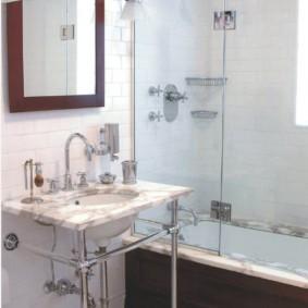раздвижные шторки для ванной фото дизайн
