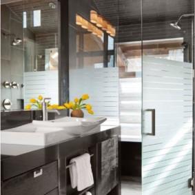 раздвижные шторки для ванной фото дизайна