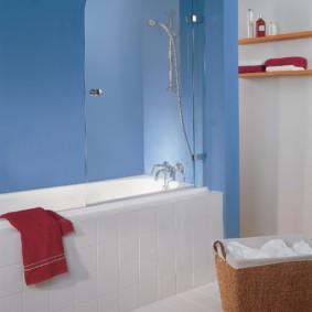 раздвижные шторки для ванной фото видов