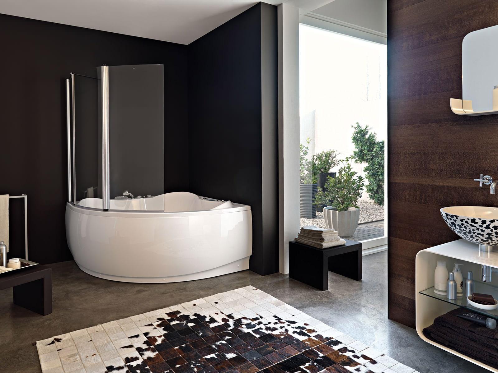 шторка для ванной варианты