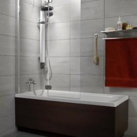 раздвижные шторки для ванной виды