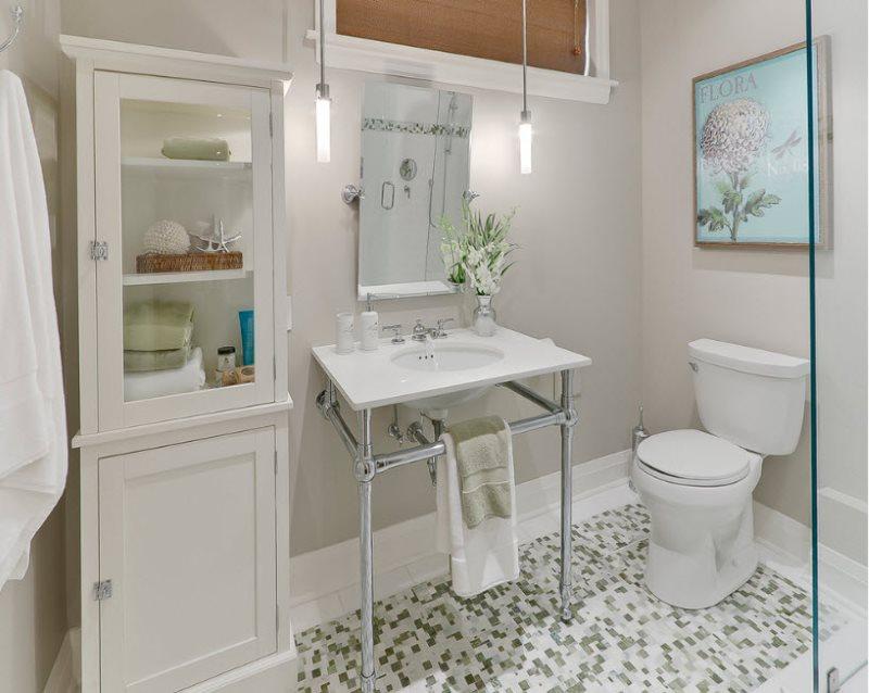 Освещение зеркала в ванной с помощью светодиодных лампочек