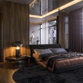 спальня в стиле хай тек текстиль