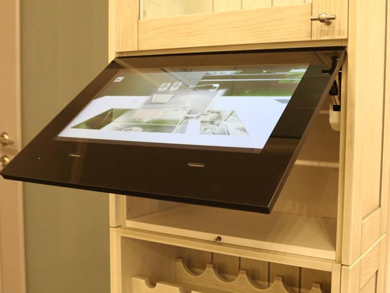 телевизор на кухне фото варианты