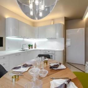 телевизор на кухне дизайн идеи