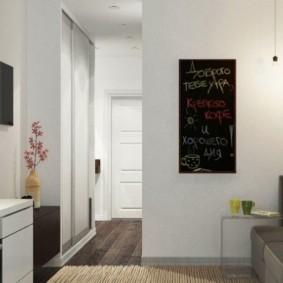 телевизор на кухне фото интерьера