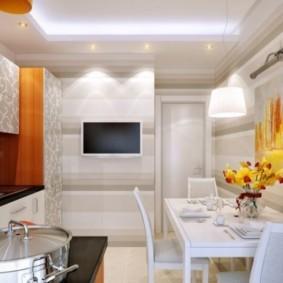 телевизор на кухне идеи декор
