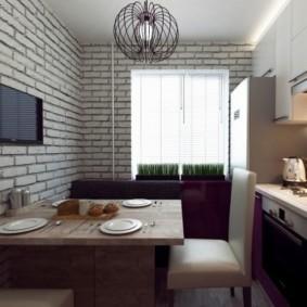 телевизор на кухне идеи декора