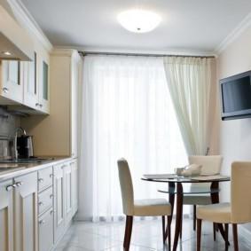 телевизор на кухне идеи дизайна