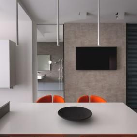 телевизор на кухне идеи интерьера
